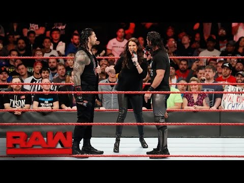 Thumbnail: Seth Rollins and Roman Reigns are out for Braun Strowman: Raw, Dec. 26, 2016