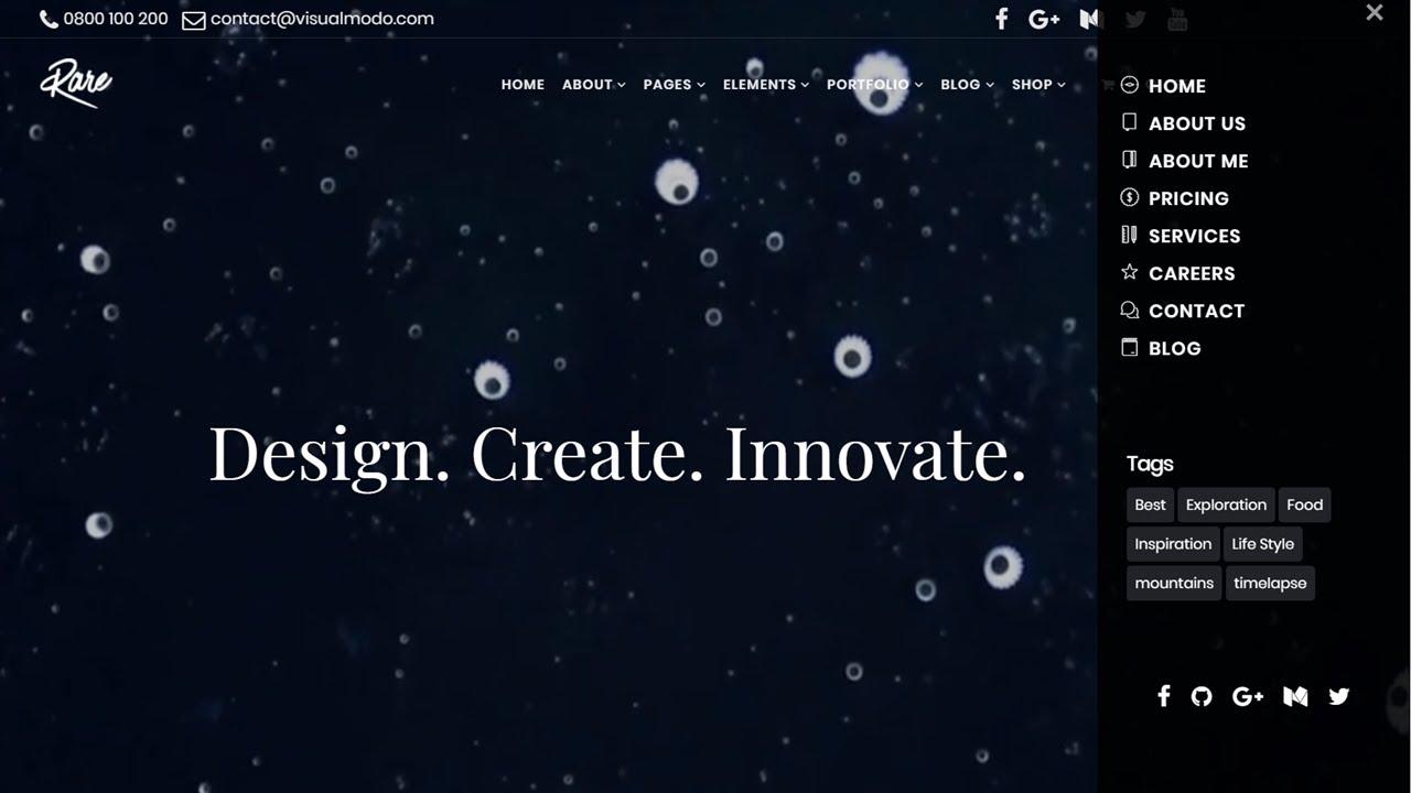 How To Create a Side Menu in WordPress?