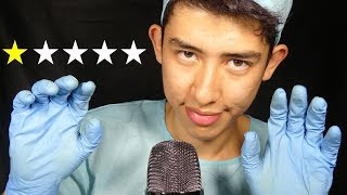 ASMR worst reviewed plastic surgeon