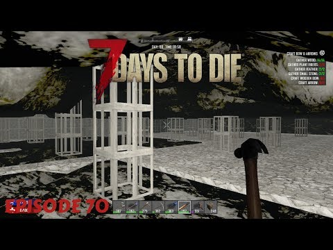 BASEMENT WORK | 7 DAYS TO DIE (#70) | With JLO1999