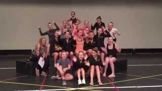 Tina Marie School Of Dance Rehersal 2015