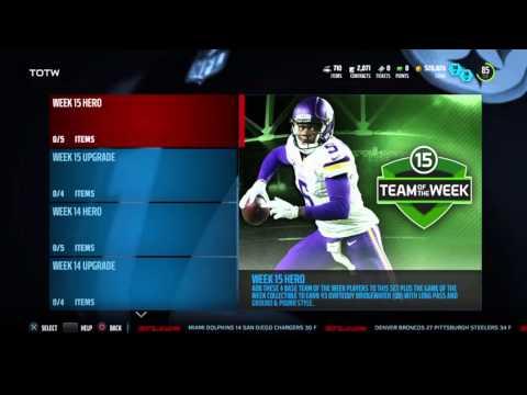 Madden 16 Ultimate Team | Week 15 TOTW Geno Atkins | Team Update |