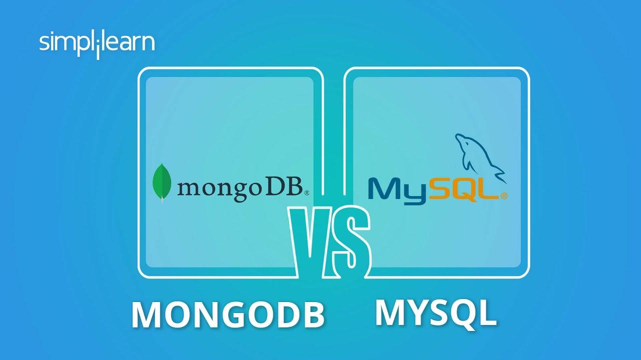 MongoDB vs MySQL   Difference Between MongoDB And MySQL   MySQL vs MongoDB Performance