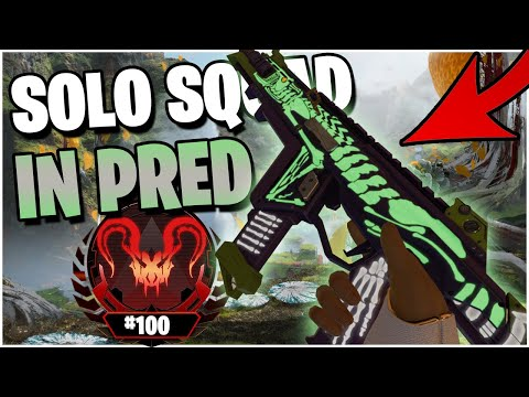 I Got 4K Damage SOLO Squading this Predator Lobby! (Apex Legends PS4)
