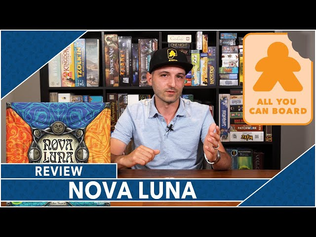 Nova Luna: Review by AYCB (2020 Spiel des Jahres Nominee)