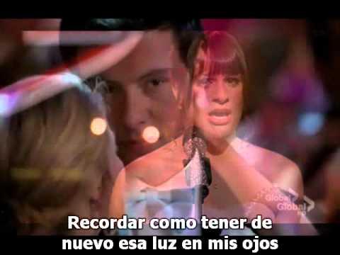 "Glee Finn & Rachel  ""Jar of Hearts"" sub.español"