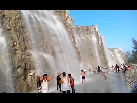 Himalaya water falls in chennai