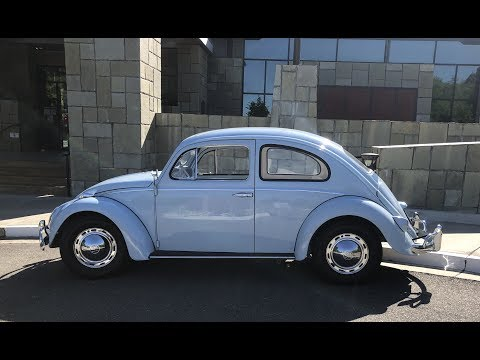 My 1961 Baby Blue Electric Volkswagen Beetle