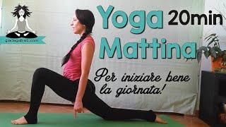 Yoga Principianti - BREVE PRATICA per la MATTINA - Inizia la giornata con energia e buonumore!