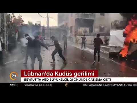 Lübnan'da Kudüs gerilimi