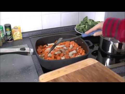Готовим моё любимое блюдо с рисом и мясом по немецкому рецепту:) Про попугая