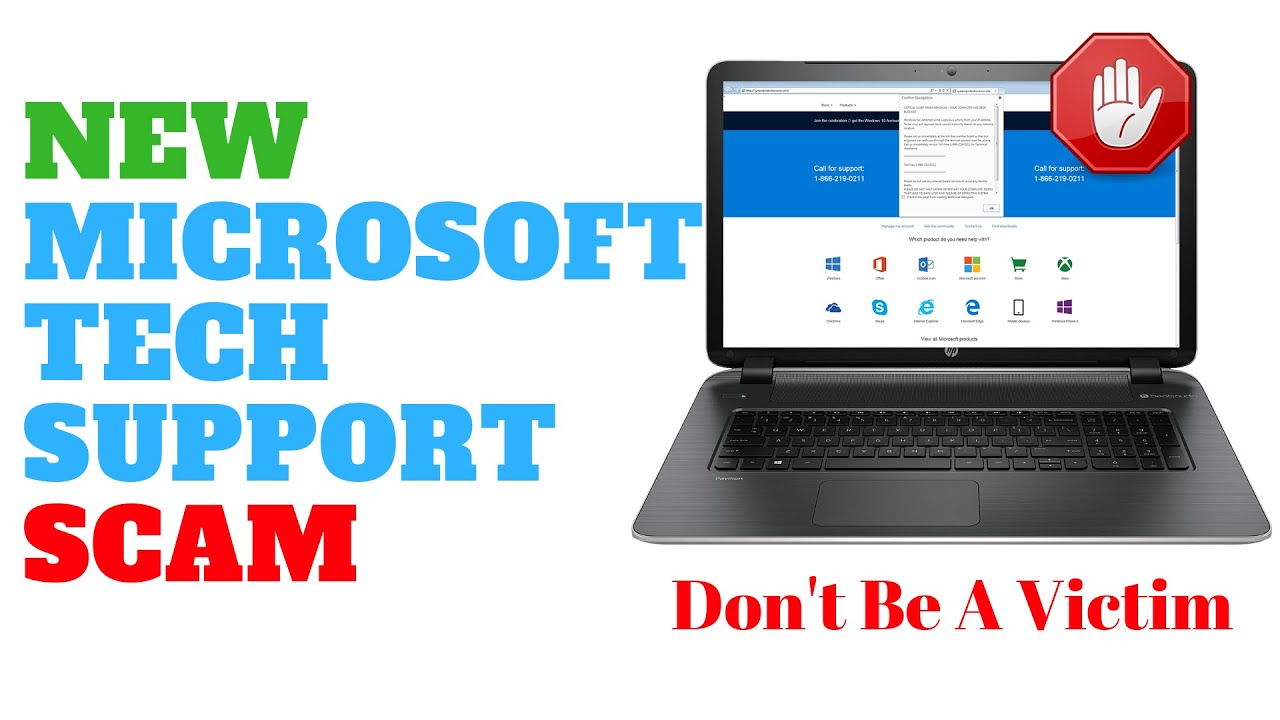 New Microsoft Tech Support Scam