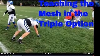 Teaching the Mesh in the Veer Offense