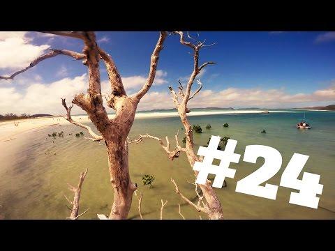 Whitsunday Islands Day-Trip #2 [GoPro] / Whitehaven Beach / Work And Travel Australia 2014/15 #24