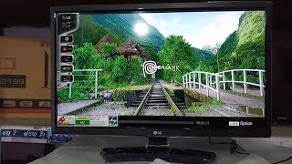 """LG 24LH454A 24"""" Inch LED TV Unboxing"""