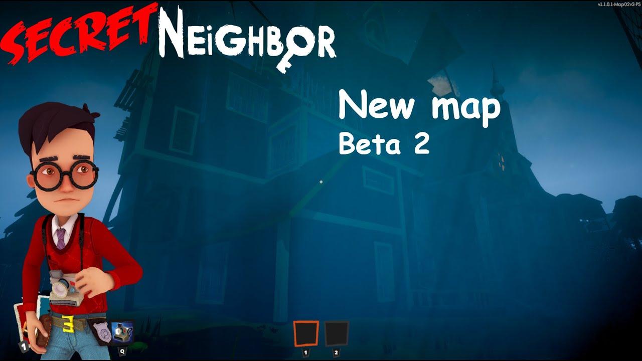 Secret Neighbor New Map Beta 2 - YouTube