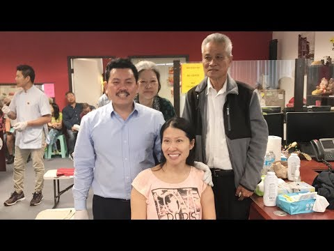 Master Vo Hoang Yen 2017 - A young girl was paralyze for 24 years.