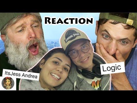 Montana Guys React to Logic's Wife - Jess Andrea (ItsJess Andrea)