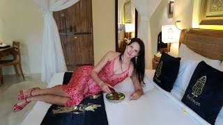 Бали, Убуд, отель Kayon Resort, лес обезьян, рисовые террасы, храм Pura Tirta Empul