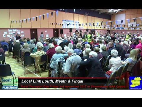 Local Link Louth Meath & Fingal Transport Day 2017 in Simonstown GAA Navan