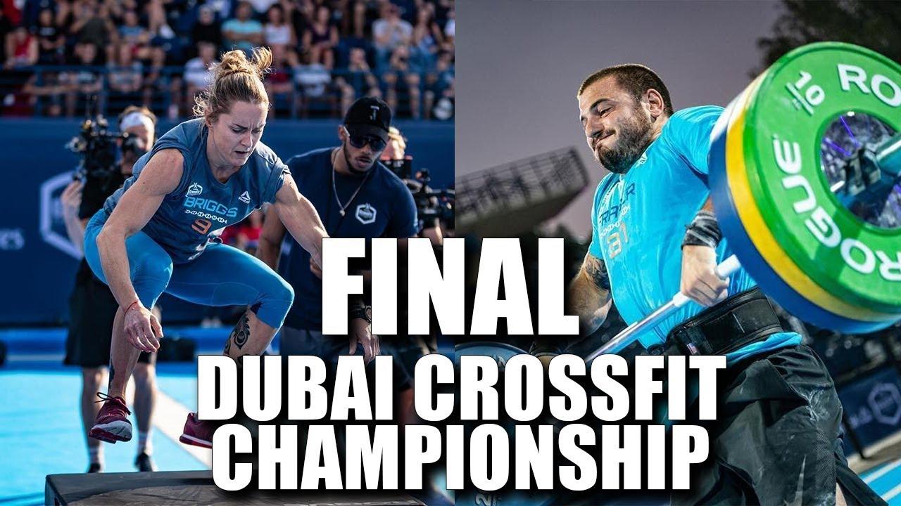 Final Dubai Crossfit Championship 2018 Resumen Youtube