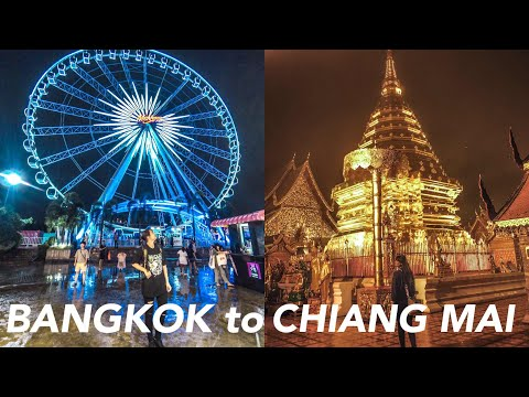 ✈️ VLOG Thailand | from BANGKOK to CHIANG MAI