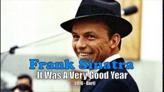 Frank Sinatra - It Was A Very Good Year (Karaoke)