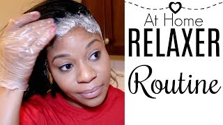 ♥ At Home Relaxer Routine ♥