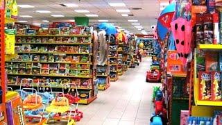VLOG  Поход в магазин за игрушками Щенячий патруль  Поли робокар Лего Крутые Динозавры-Трансформеры