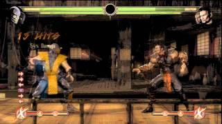 Mortal Kombat 9 (MK9) Tag Team High Damage X-Ray Combos