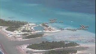 Polynésie française : l'hôtel et le lagon