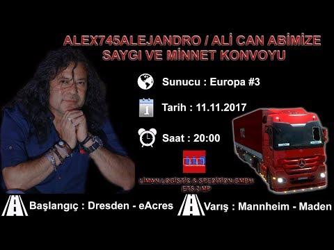 Alex745Alejandro / Ali Can Ağabeyimizi Anma Konvoyu