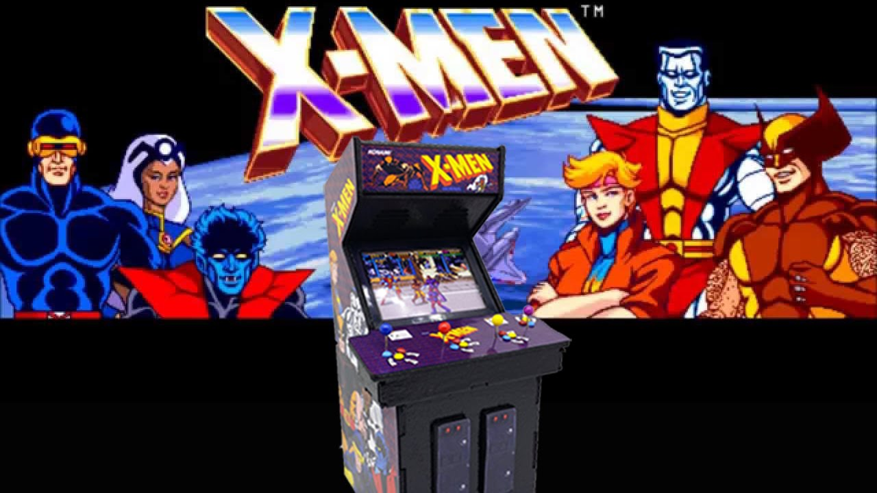 x men arcade 1992 playthrough youtube