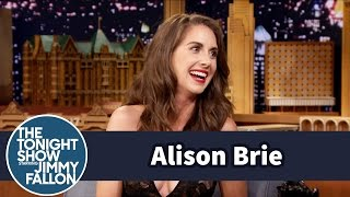 Alison Brie Froze Playing Snow White in Community Theater