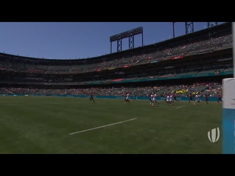 Highlights: Men's first session on day one at Rugby World Cup Sevens