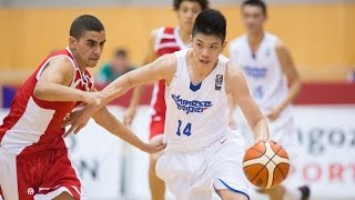 Chinese Taipei v Egypt - 2016 FIBA U17 World Championship T.LIN 林庭謙 30points highlight
