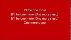 One More Sleep ~ Leona Lewis ~ Lyrics