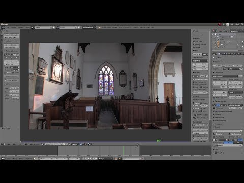 Repeat Equirectangular to Fisheye with Blender by Ron Proctor