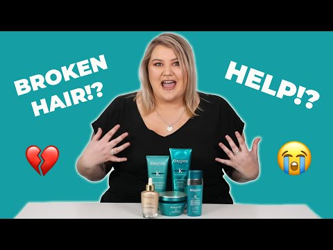 How I Saved My Damaged Hair With Kerastase
