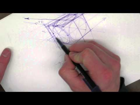 Ellipse sketching and Drawing for Product and Industrial Design