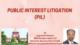 admin/ajax/Public Interest Litigation in the Supreme Court of India