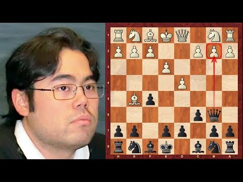 Hikaru Nakamura's most outrageous chess opening! Tradewise Gibraltar 2015 - Round 1
