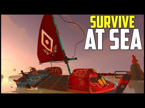 Survival at Sea! - Creative Boat Building & Exploration! - Make Sail Gameplay Ep 1