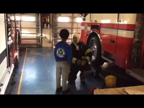Michael-Alexander Shapira Interviews a Firefighter