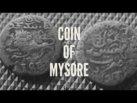 Rare 20 Kasu Coin of Sri Krishna Raja Wadeyar III, Mysore