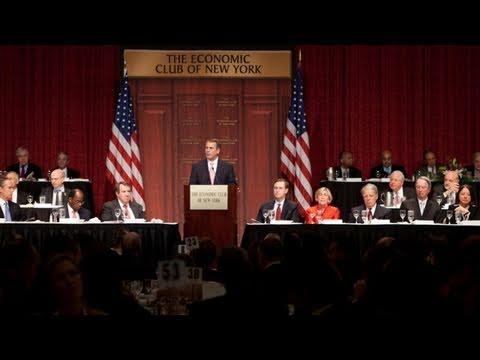 Speaker Boehner's Address to the Economic Club of New York on Jobs, Debt, Gas Prices