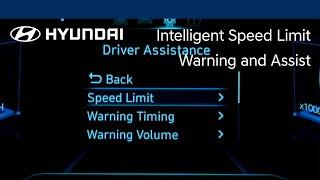 Intelligent Speed Limit Warning and Assist | TUCSON | Hyundai