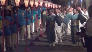 福島市の飯坂温泉で毎年開催されている「第16回飯坂温泉ファイヤー祭2...