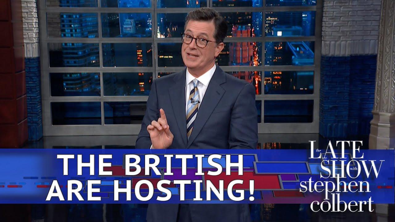 Late Night Hosts Feast on Trump's Buckingham Palace Visit | Time