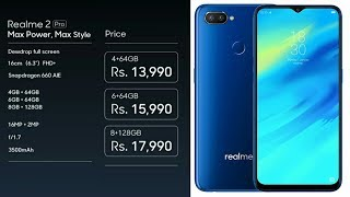 Realme 2 Pro - killer Phone   Specifications, Price In India And Features   Full Review   In Hindi